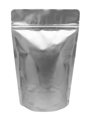 8 oz Stand Up Pouch Silver - PBFY