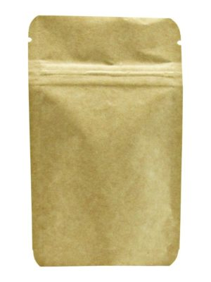 1 oz Metallized Stand Up Pouch Kraft - PBFY
