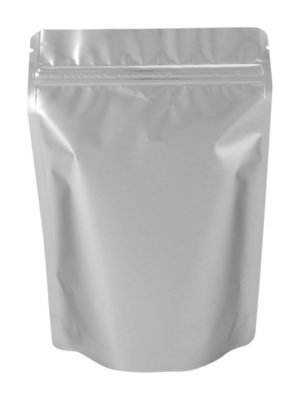 4 oz Metallized Stand Up Pouch Silver - PBFY