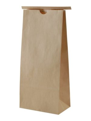 5 lb Paper Bag with Tin Tie Kraft - PBFY