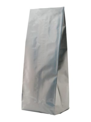 2 lb Side Gusseted Bag Silver - PBFY
