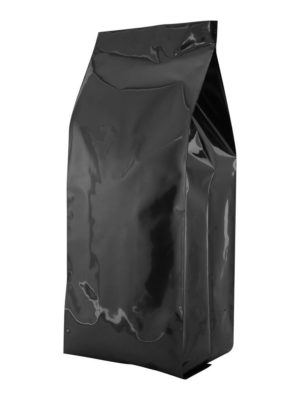 5 lb Poly Side Gusseted Bag Black - PBFY