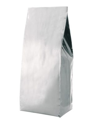 5 lb Poly Side Gusseted Bag Silver - PBFY