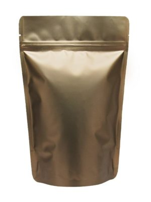 16 oz Stand Up Pouch Matte Bronze - PBFY