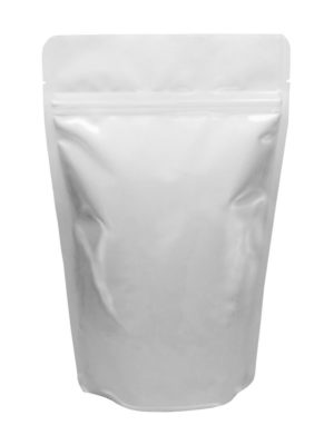16 oz Stand Up Pouch White - PBFY