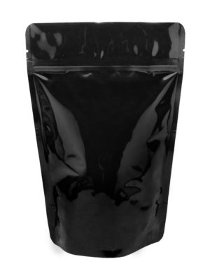 4 oz Stand Up Pouch Clear/Black - PBFY