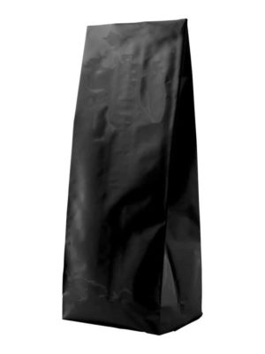2 lb Side Gusseted Bag Matte Black - PBFY