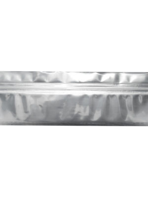 Mylar Pouch Bag Clear Black