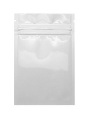 Mylar Flat Pouch Clear White