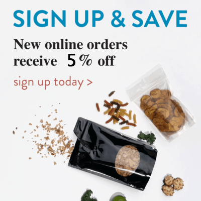 sign up to save 5% on food packaging